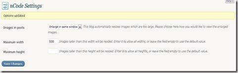 ncode image resizer setting